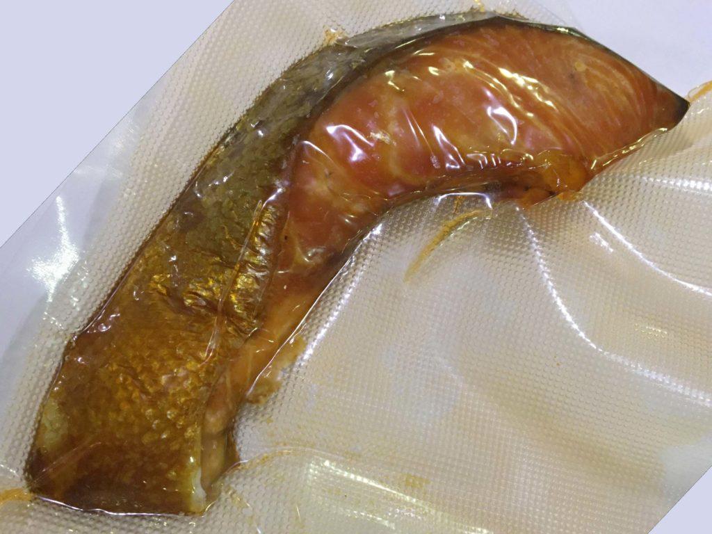 甘塩鮭の燻製
