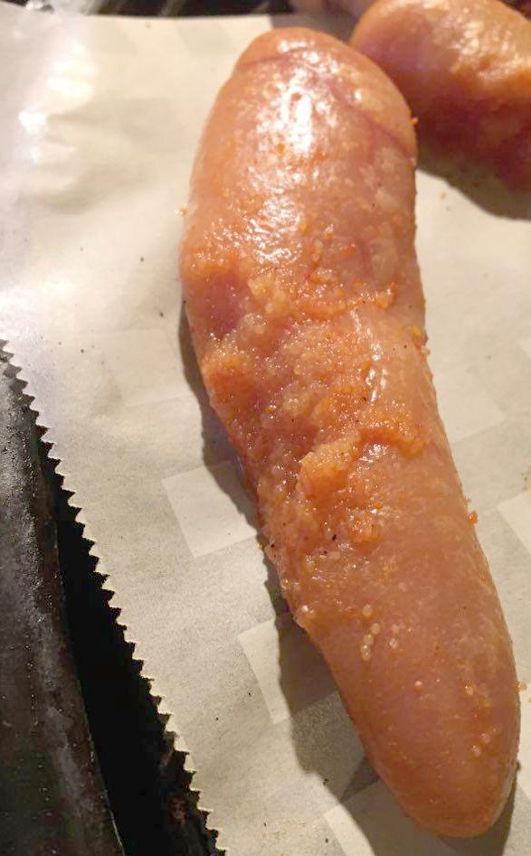タラコの燻製